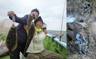 ◆ゴルフ・釣り など(同好会?)プライベートでも仲良しです。02