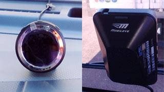 ◆モービルアイ(追突防止警報装置)◆プリクラッシュブレーキ(追突防止装置)
